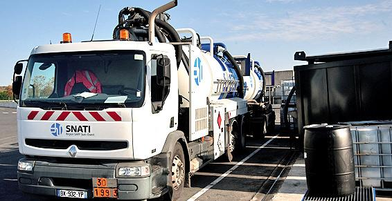 Récolte, stockage et valorisation des déchets industriels.