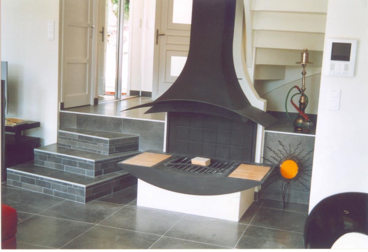 Architecture d'intérieur Lellouch Jean-Louis - marches décalées