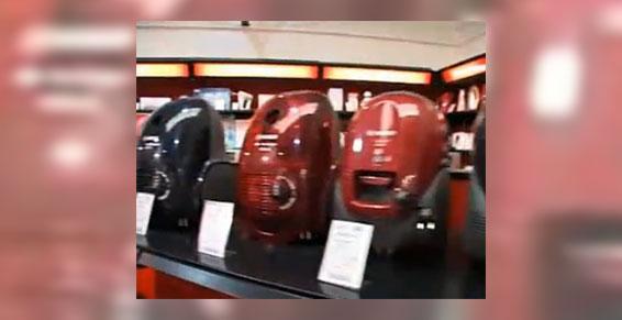 électroménager - Rayon aspirateur