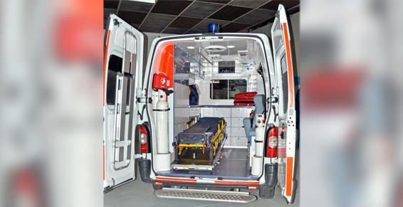 Ambulance - Intérieur de véhicule équipé