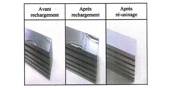 Soudure laser - réparation par apport de métal