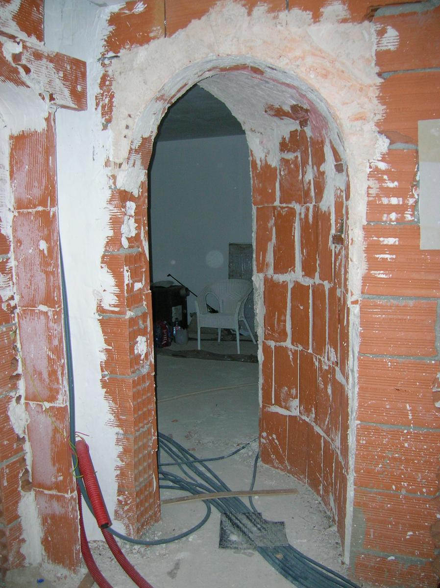 CM CASTEL - Rénovation -  Voute avant