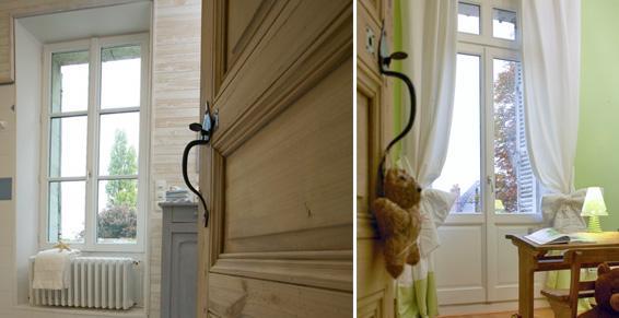 Portes et fenêtres Janneau en bois tous coloris