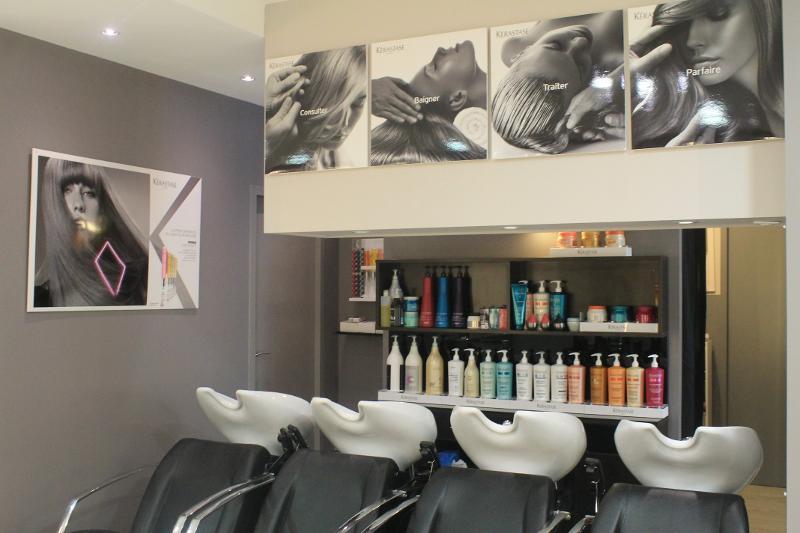 Salon de coiffure Studio 22 situé à Bessines