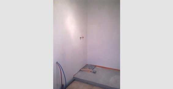Salle de bain avant travaux - société Le Bras