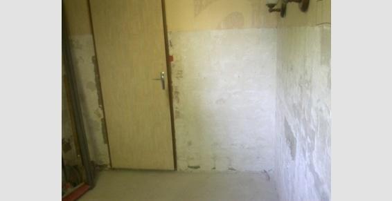 Salle de bain en cours de rénovation