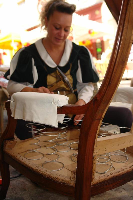 Atelier des Templiers, restaurations de mobiliers anciens à Vendôme