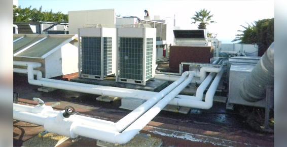 Casino toiture terrasse Climat System à La Valette du Var