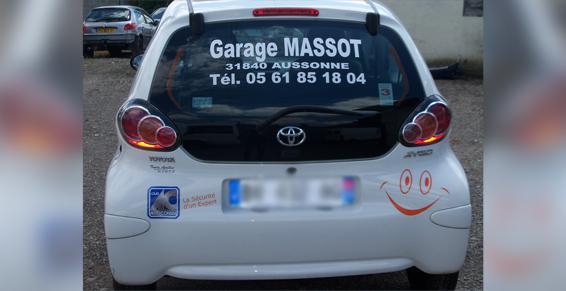 Vehicule à Aussonne
