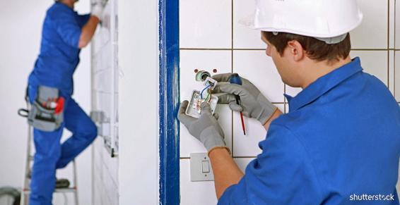 Électricité générale entreprises - Câblage interrupteur boitier