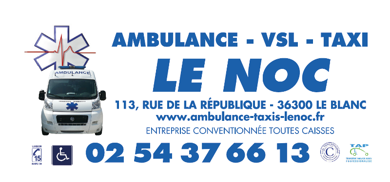 Ambulance-Taxi Le Noc