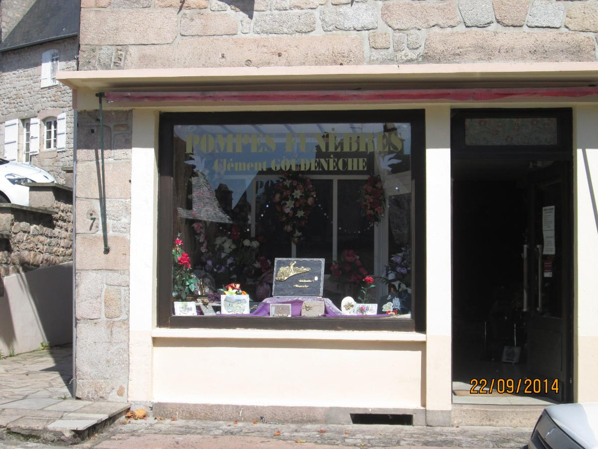 Pompes Funèbres Clément Goudenèche, à Meymac en Corrèze