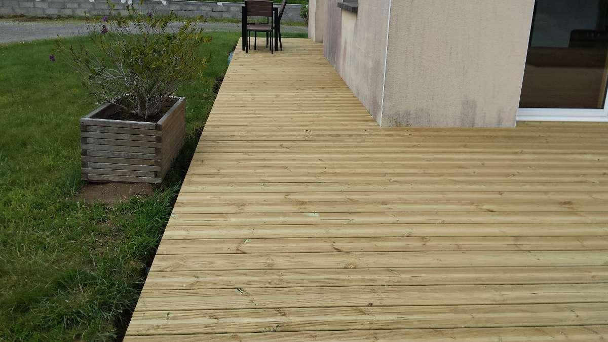 terrase en bois - MFDS Constructions