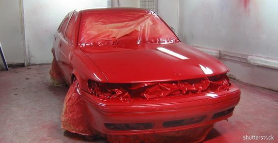 Une peinture complète pour embellir votre véhicule