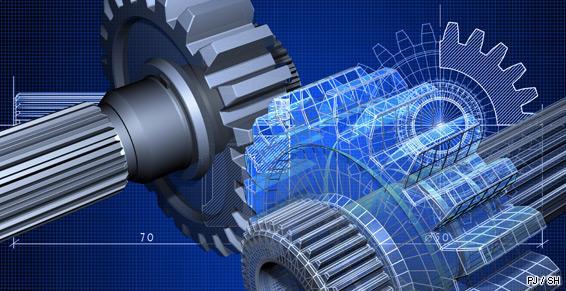 Modeleur engrenage industriel